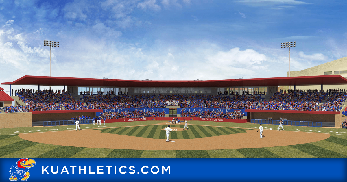 Hoglund Ballpark Included In Largest Capital Campaign In Kai History Kansas Jayhawks