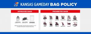 Kansas Athletics' Clear Bag Policy
