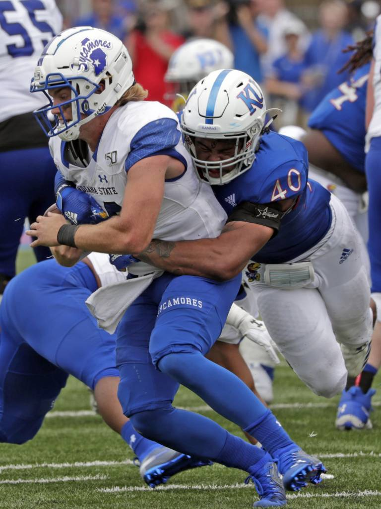 Dru Prox tackle Indiana State