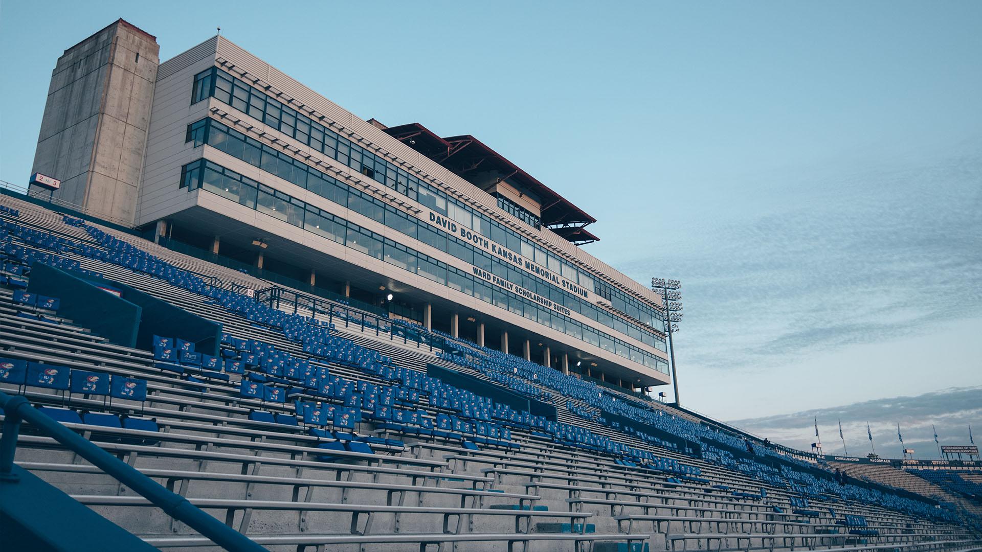 a quiet memorial stadium before indiana state