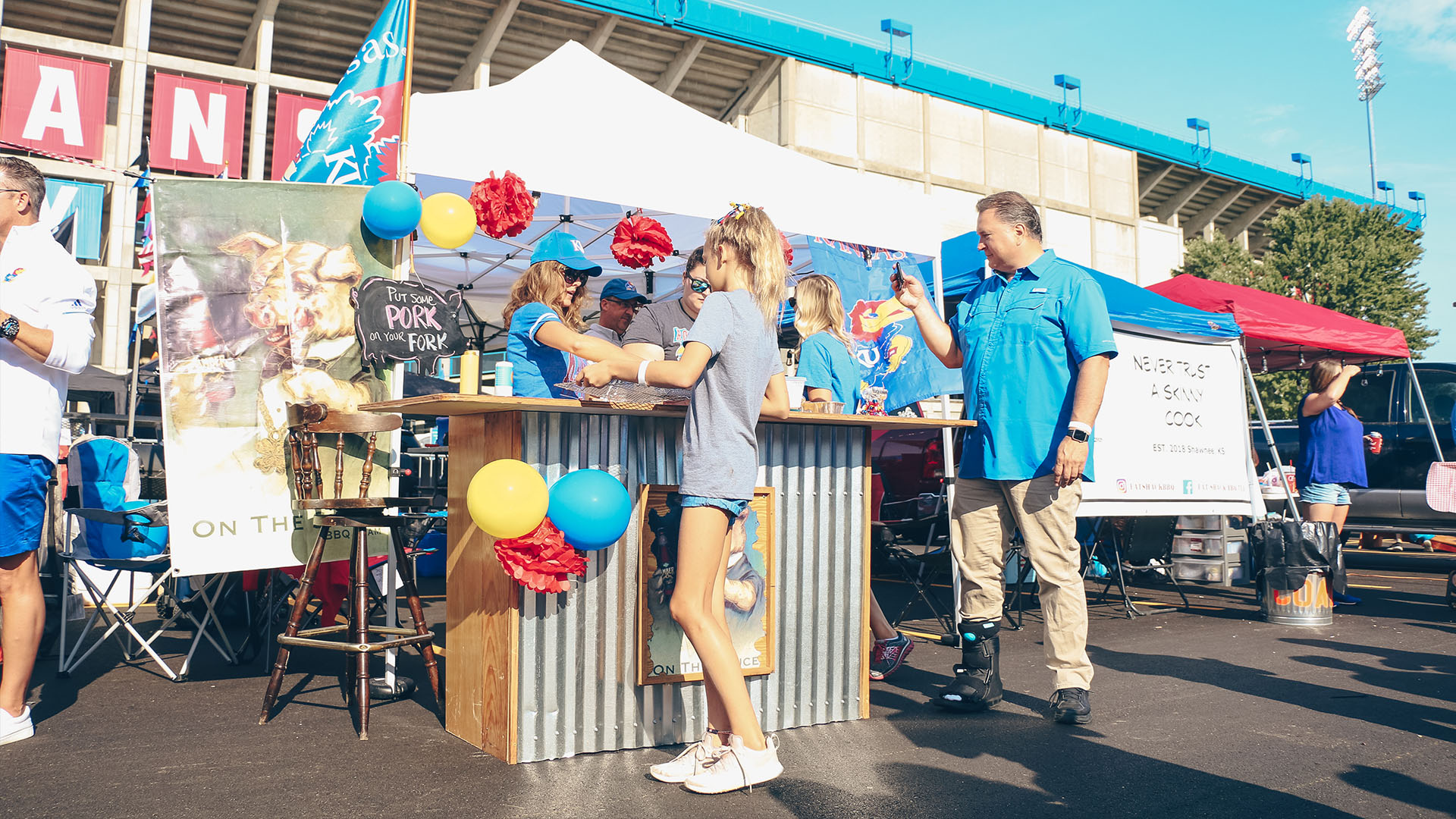 tailgate indiana state stand