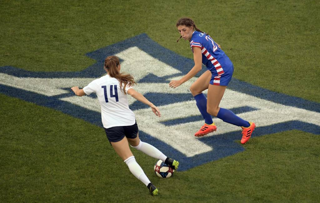 on sale fe6b5 5eca0 Soccer vs. BYU – Kansas Jayhawks